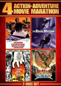 Shake Hands With The Devil/The Final Option/I Escaped From Devil's Island/Treasure of the Four Crowns (DVD)