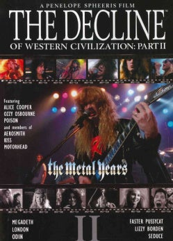 The Decline Of Western Civilization Part II: The Metal Years (DVD)