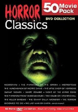 50 Movie Horror Classics (DVD)