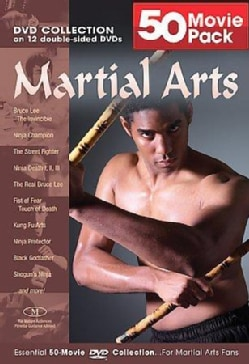 Martial Arts 50 Movie Mega Pack (DVD)