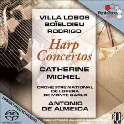 Various - Harp Concertos: Catherine Michel