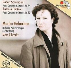 Orchestre Philharmonique De Strasbourg - Schumann/Dvorak: Piano Concertos