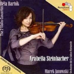 Orchestre De La Suisse Romande - Bartok: 2 Violin Concertos: Arabella Steinbacher