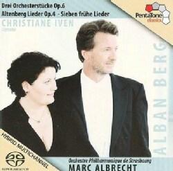 Orchestre Philharmonique De Strasbourg - Berg/Strauss: 3 Orchester Stucke; Altenberg Lieder