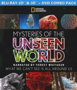 Mysteries Of The Unseen World 3D (Blu-ray/DVD)