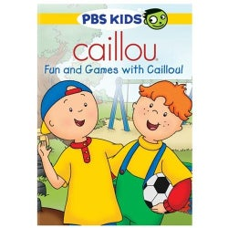 Caillou: Fun and Games with Caillou! (DVD)