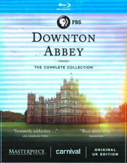 Downton Abbey: The Complete Collection (Blu-ray Disc)