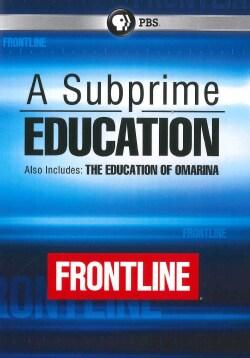 Frontline: A Subprime Education (DVD)