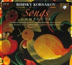 Nikolai Rimsky-Korsakov - Rimsky-Korsakov: Songs