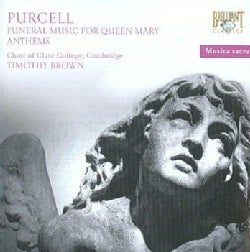 Timothy Brown - Purcell: Sacred Music