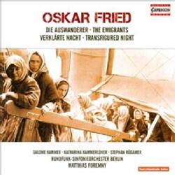 Rundfunk-Sinfonieorchester Berlin - Fried: Emigrants, Transfigured Night