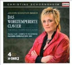 Christine Schornsheim - Bach: Well-Tempered Clavier