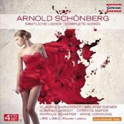 Anke Vondung - Schonberg: Complete Songs