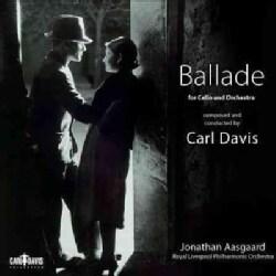 Jonathan Aasgaard - Davis: Ballade for Cello & Orchestra