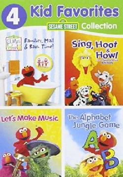 4 Kid Favorites: Sesame Street (DVD)