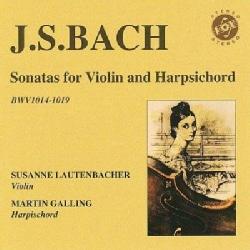 Susanne Lautenbacher - Bach: Sonatas for Violin and Harpsichord