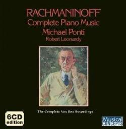 Michael Ponti - Rachmaninoff: Complete Piano Music