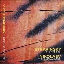 Vladimir Nikolaev - Stravinsky/Nikolaev: The Firebird/The Sinewaveland