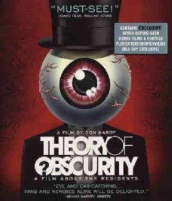 Theory of Obscurity: A Film About the Residents (Blu-ray Disc)