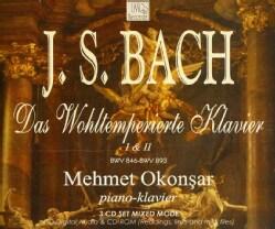 J.S. BACH - DAS WOHLTEMPERIERTE KLAVIER 1 & 2