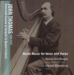 Edward Witsenburg - Thomas: Welsh Music for Voice and Harps