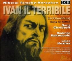 NIKOLAY ANDREYEVICH RIMSKY KORSAKOV - IVAN IL TERRIBILE