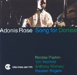 Adonis Rose Quintet - Song For Donise