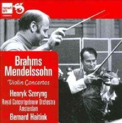 Felix Bartholdy Mendelssohn - Brahms/Mendelssohn: Violin Concertos