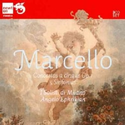 I Solisti Di Milano - Marcello: Concertos a Cinque, Op. 1-5 Sinfonias