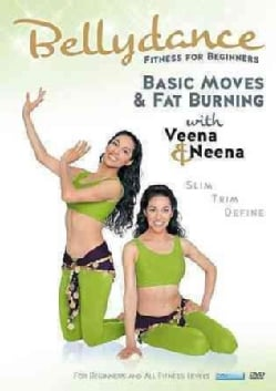 Bellydance Twins: Fitness for Beginners: Basic Moves & Fat Burning with Veena & Neena (DVD)