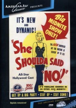 """She Shoulda Said """"No"""" (DVD)"""