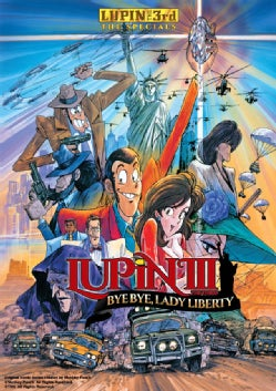 Lupin The 3rd: Bye Bye Lady Liberty (DVD)
