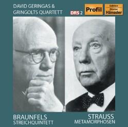 Walter Braunfels - Braunfels/Strauss: Streichquintett/Metamorphosen