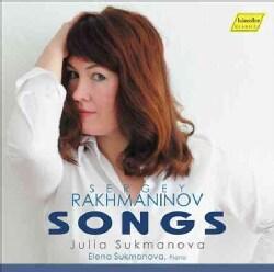 Julia Sukmanova - Rachmaninov: Songs