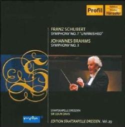 Staatskapelle Dresden - Schubert/Brahms: Symphony No 7; Symphony No 3