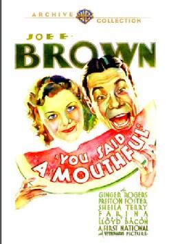 You Said A Mouthful (DVD)