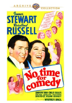 No Time For Comedy (DVD)