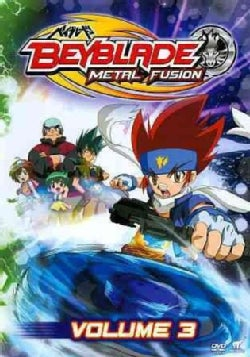 Beyblade: Metal Fusion Vol 3 (DVD)