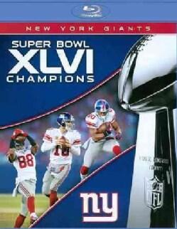 NFL Super Bowl XLVI (Blu-ray Disc)