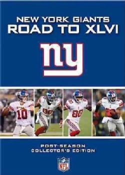 NFL New York Giants: Road To XLVI (DVD)