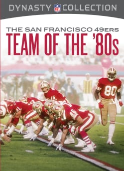 The San Francisco 49ers: The Team Of The 80s (DVD)