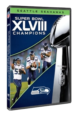 NFL Super Bowl XLVIII Champions Seattle Seahawks (DVD)