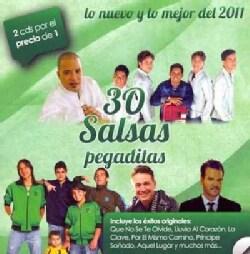 Various - 30 Salsas Pegaditas, Lo Nuevo Y Lo Mejor Del 2011