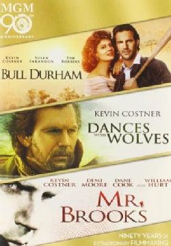 Bull Durham/Dances With Wolves/Mr. Brooks (DVD)