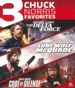 The Delta Force/Long Wolf McQuade/Code Of Silence (Blu-ray Disc)