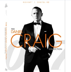 007 The Daniel Craig Collection (Blu-ray Disc)