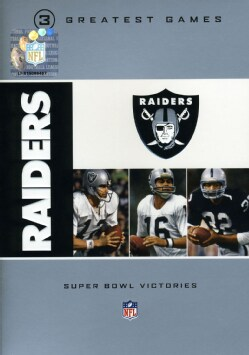 NFL Oakland Raiders 3 Greatest Games: Super Bowl Victories (DVD)