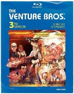 The Venture Bros.: Season Three (Blu-ray Disc)