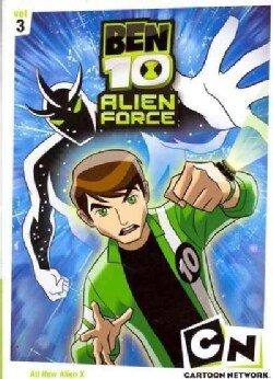 Ben 10 Alien Force: Vol 3 (DVD)
