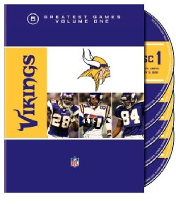 NFL Minnesota Vikings 5 Greatest Games (DVD)